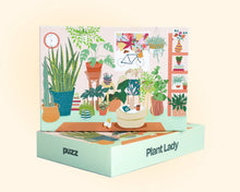Load image into Gallery viewer, plant lady puzzle