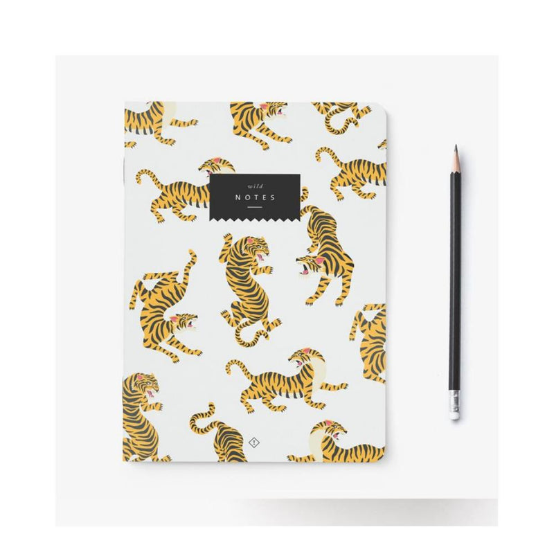 "TYPEALIVE - Notizheft ""Tiger"" -  - No59 Conceptstore Cologne"