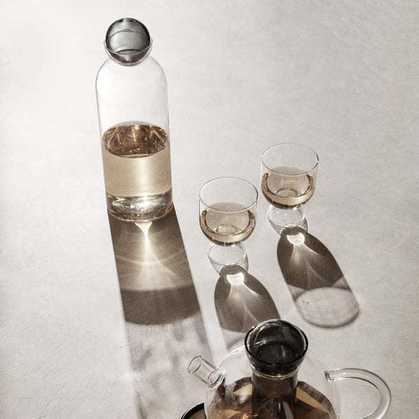 "FERM LIVING - Gläser ""Still"" Clear 2er Set -  - No59 Conceptstore Cologne"