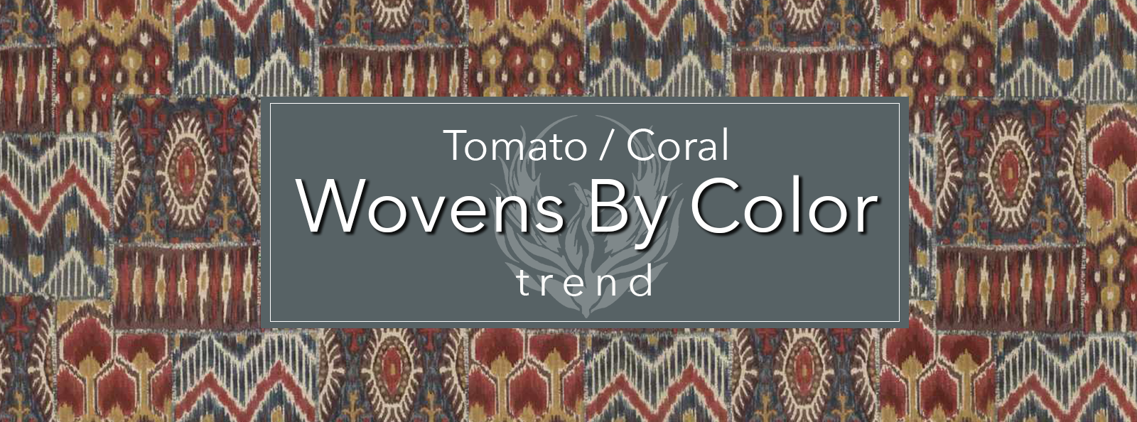 Wovens by Color - Tomato / Coral by Trend