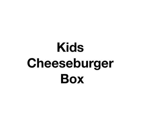 Kids Cheeseburger Box
