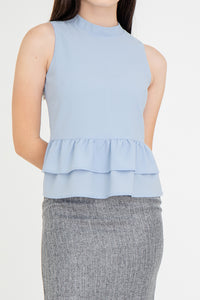 Libby Tiered Babydoll Top