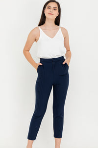 Kitrina High Waisted Tailored Pants