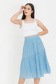 Celine High Waisted Midi Skirt