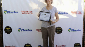 Verdigris Tea & Chocolate Bar wins Register Star award!