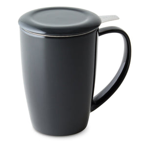 Curve Tall Tea Mug with Infuser
