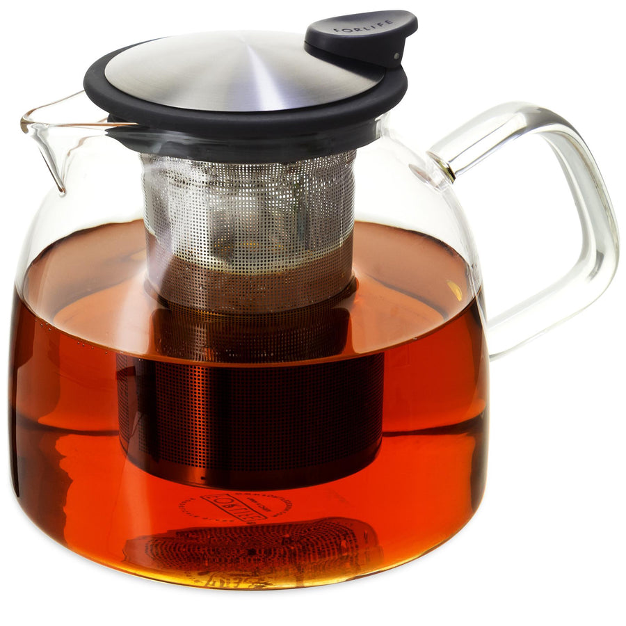Bell Glass Teapot 43 oz