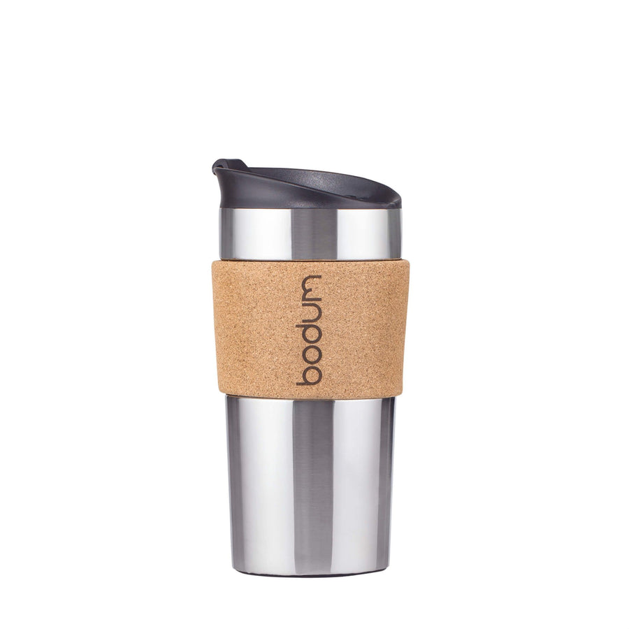 Travel Mug w/cork sleeve