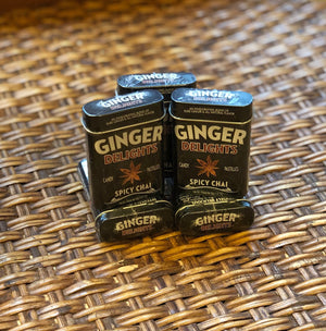 Spicy Chai Ginger Pastilles