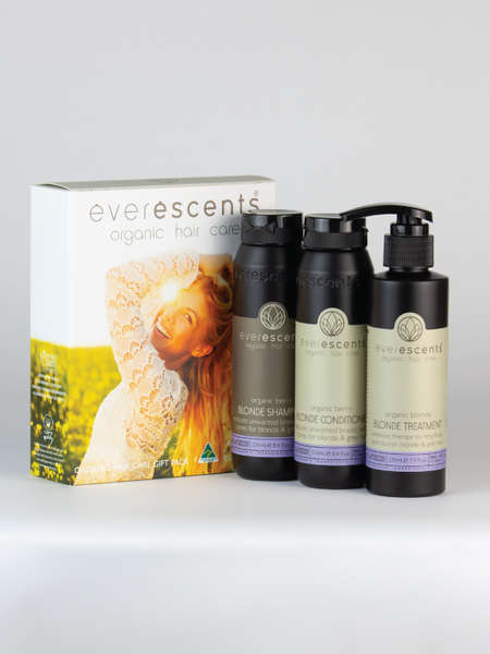 Organic Care Gift Pack Blonde - Save $38.55