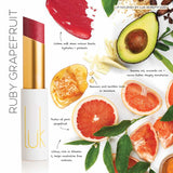 LUK Lip Nourish Ruby Grapefruit Natural Lipstick