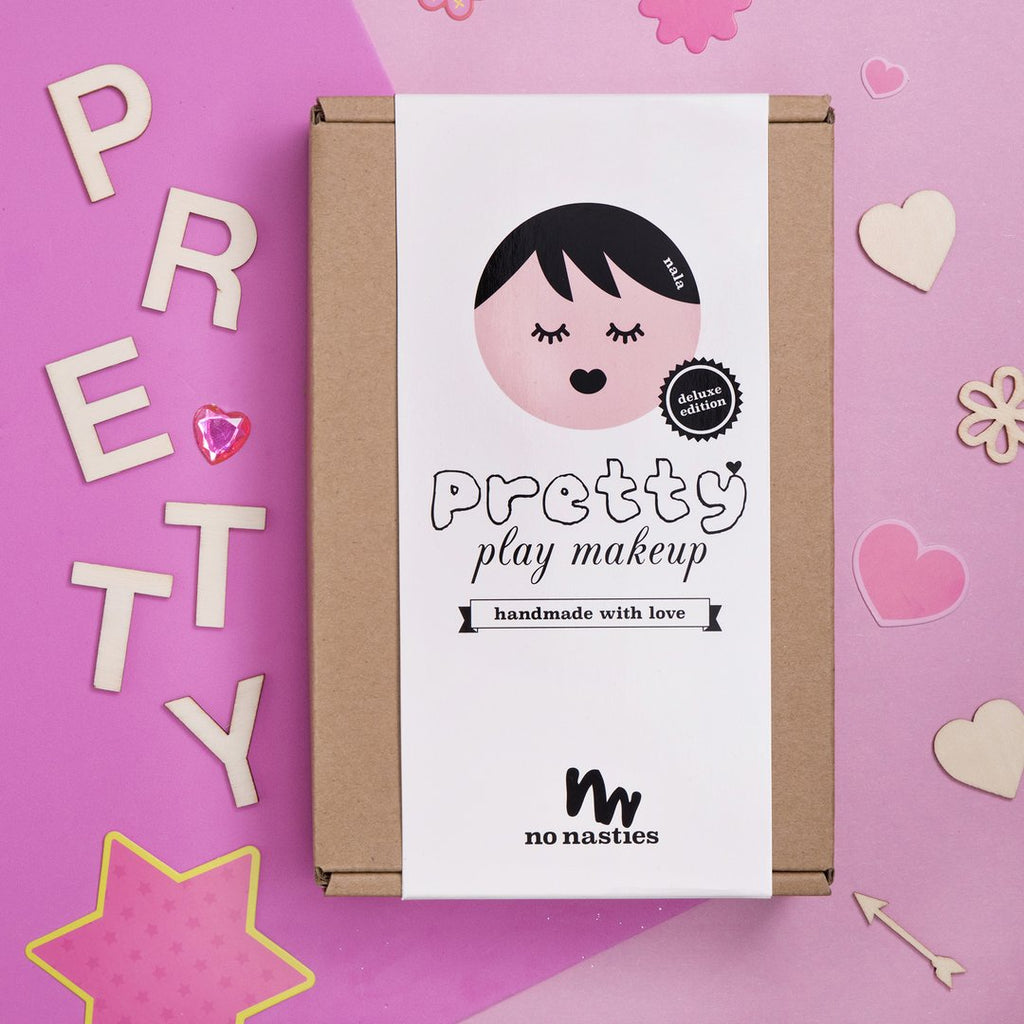 No Nasties NALA/ Deluxe pink pretty play makeup box