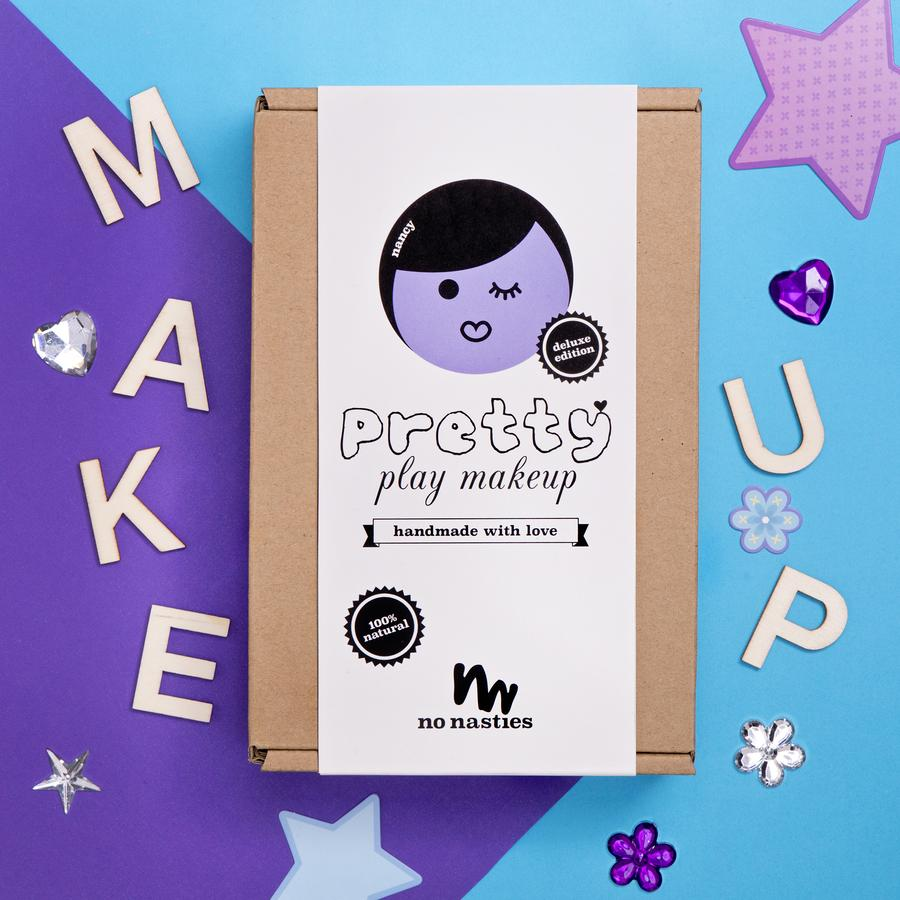 No Nasties NANCY | *DELUXE* PURPLE PRETTY PLAY MAKEUP BOX