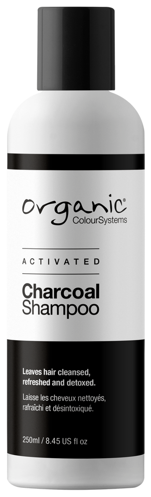 Organic colour systems activated charcoal shampoo