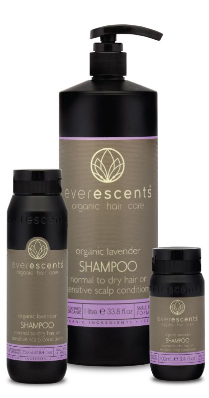 Everescents Organic Lavender Shampoo