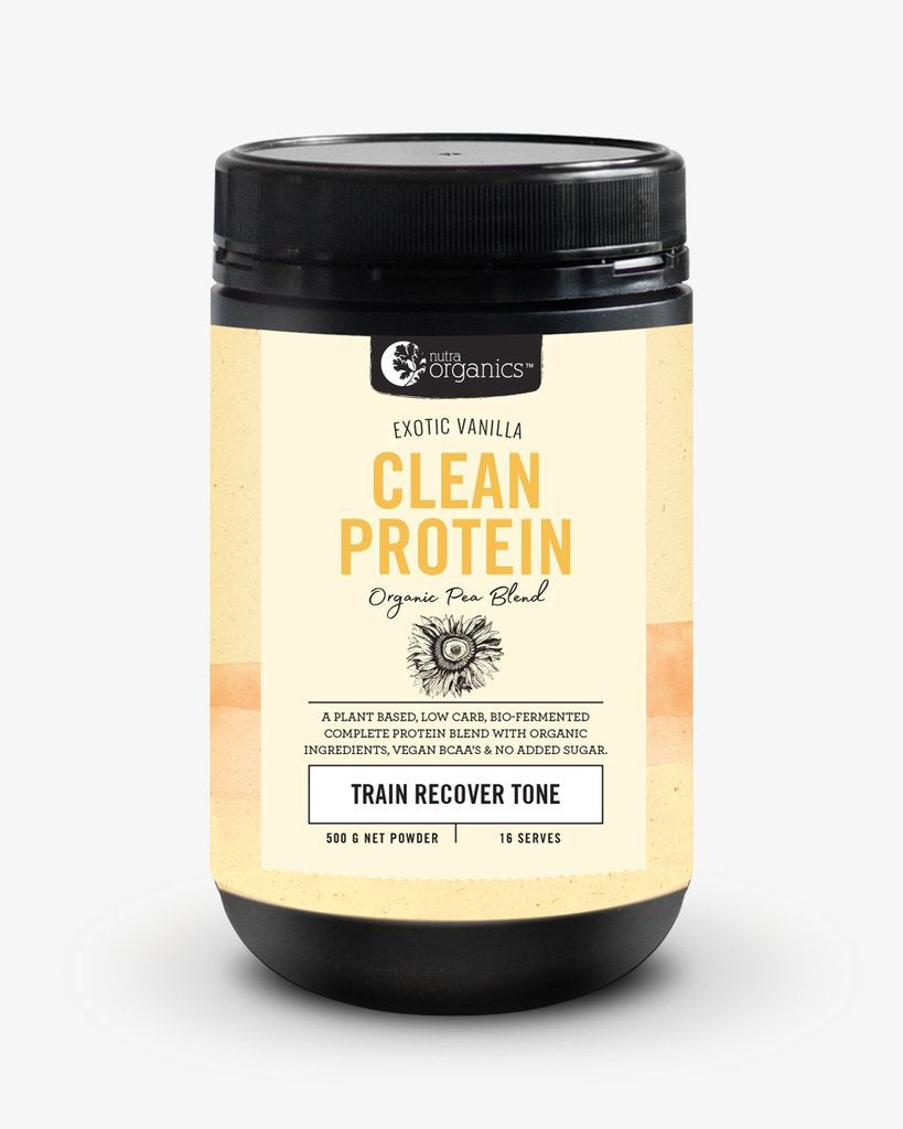 Nutra Organics Clean Protein Exotic Vanilla