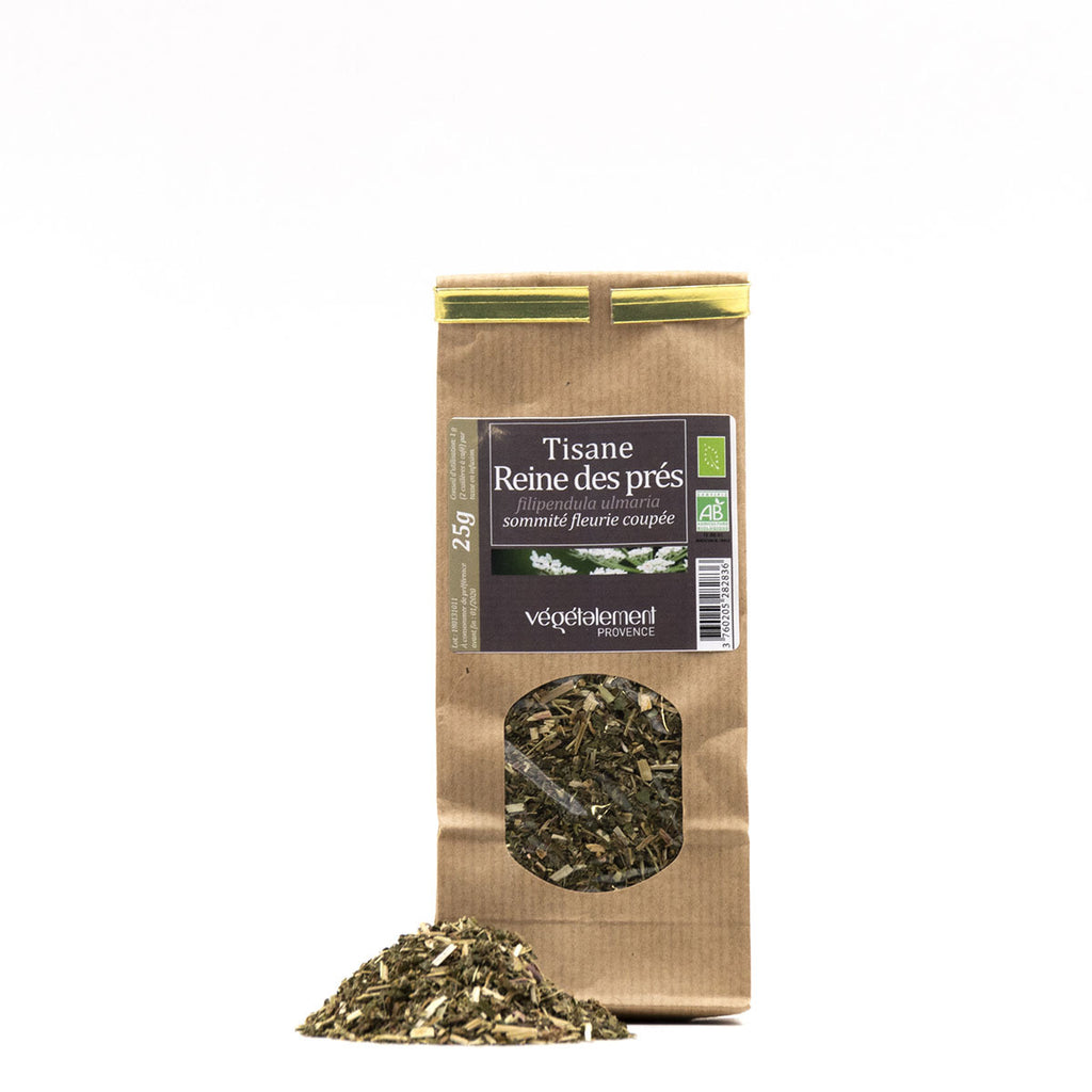 Organic meadowsweet herbal tea 25 GR