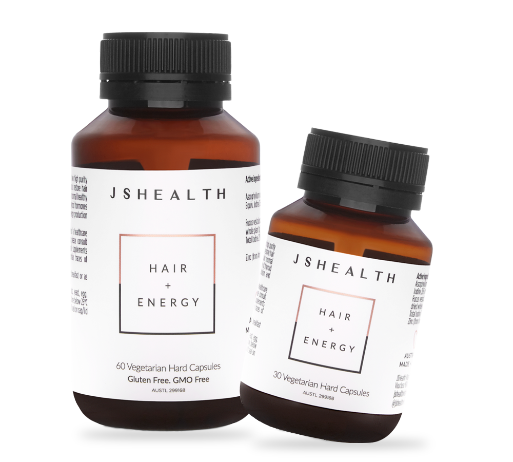JS Health vitamin hair + energy formula