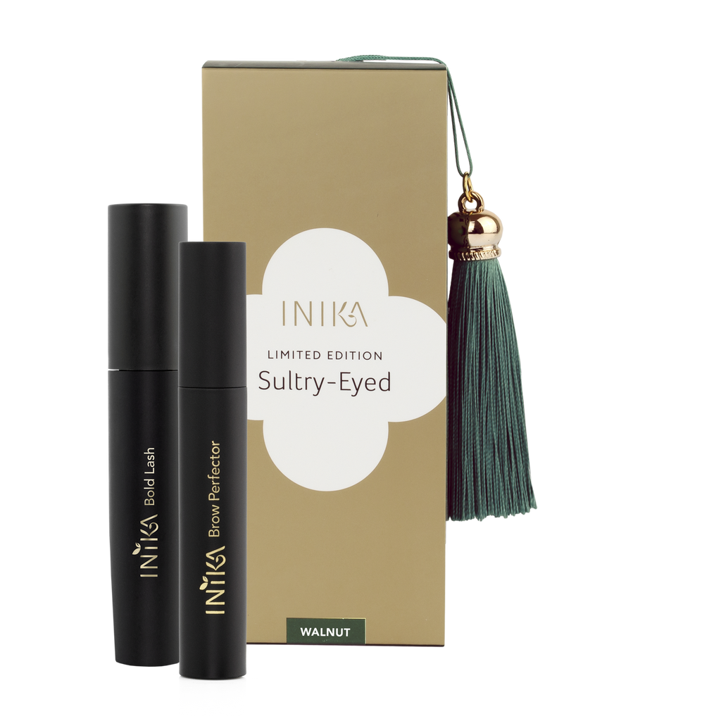 Inika Limited Edition Sultry Eyed Set (Walnut)
