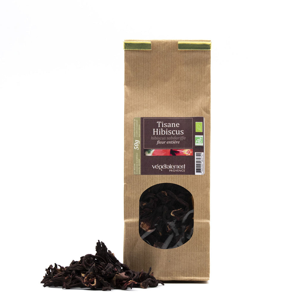 Organic hibiscus herbal tea 50 GR