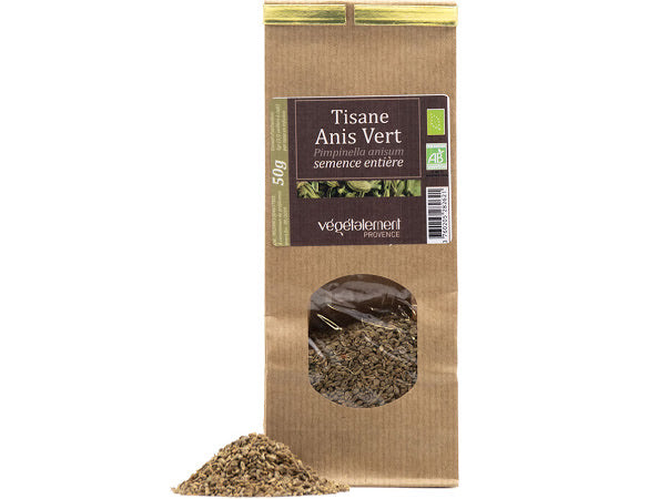 Organic green anise herbal tea 50 GR
