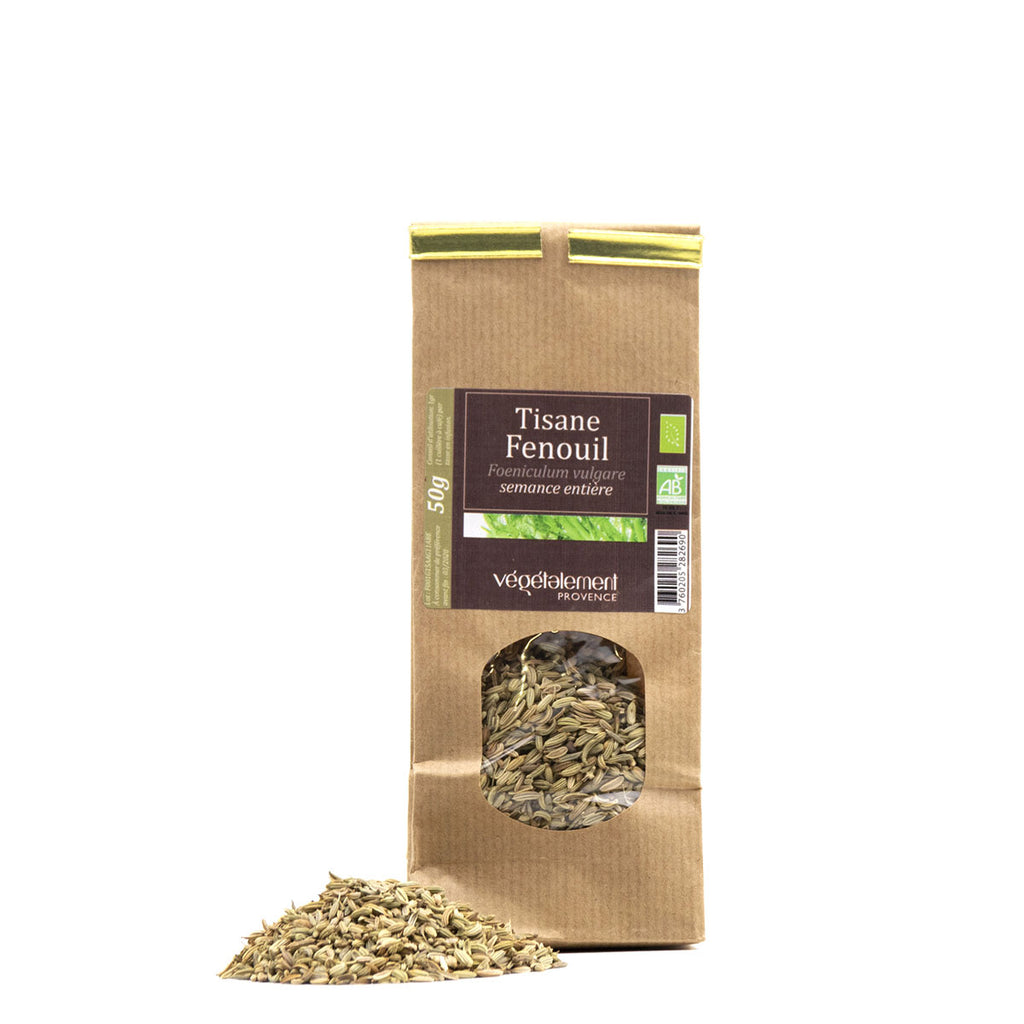 Organic fennel herbal tea 50 GR