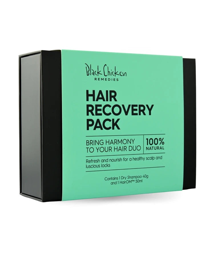 Black chicken Hair Recovery Pack - Natural Hair Care Pack