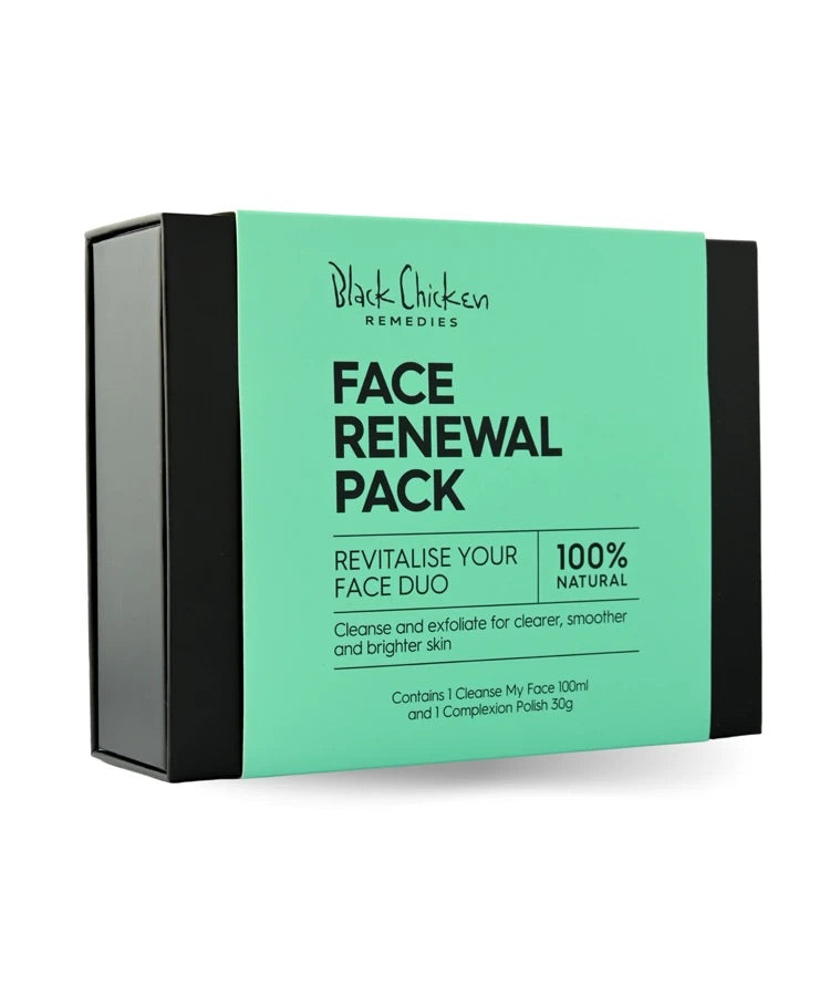 Black chicken Face Renewal Pack - Natural Skincare Pack
