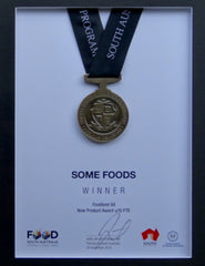 New Product Award - awarded to SOME Foods in 2015 SA Food Industry Awards