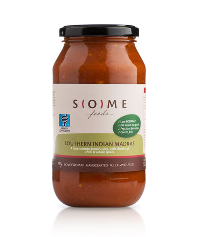 Certified low FODMAP Southern Indian Madras jar