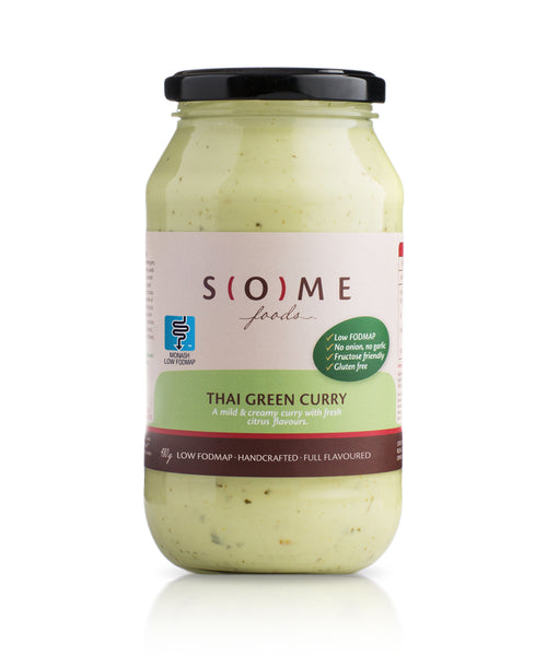 Certified low FODMAP Thai Green Curry jar
