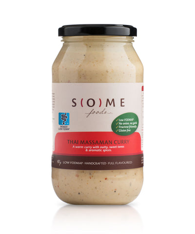 Certified low FODMAP Thai Massaman Curry jar