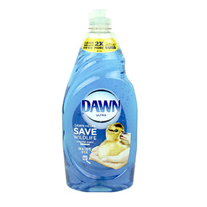 Soap: Dawn Dish Detergent 38oz Bottle