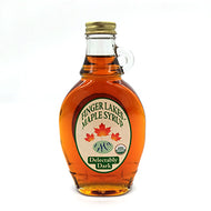 Maple Syrup: Local Organic Finger Lakes Delectably Dark 8oz Bottle