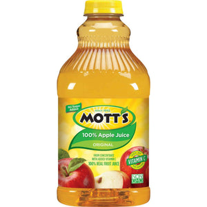 Apple Juice: Motts 64oz Container