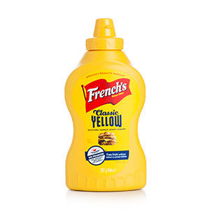 Mustard: French's Yellow 12oz Bottle