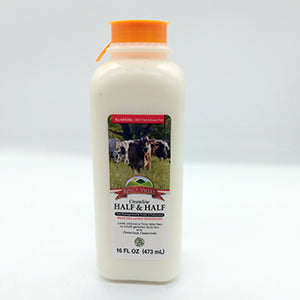 Milk: Local Trinity Valley Creamline Half & Half 1 Pint