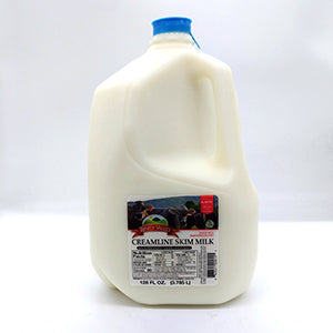 Milk: Local Trinity Valley Creamline Skim 1 Gallon