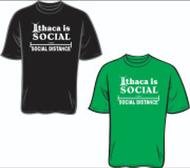 Ithaca Is Social Distancing T-Shirt