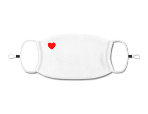 Corner Heart White (Kids)