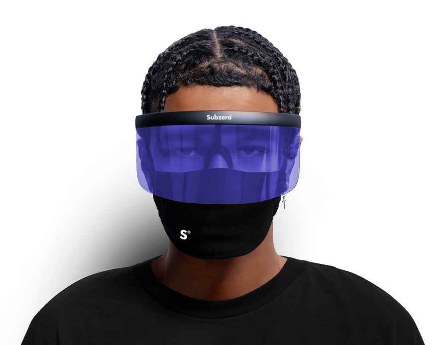 Visor Shield Blue