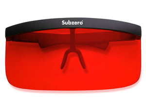 Visor Shield Red