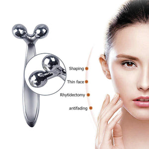 3D V FACE MASSAGE ROLLER / WRINKLE REMOVER - BODYHEALTHTODAY