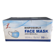 Load image into Gallery viewer, Disposable Face Cover Mask(50 Pieces/Bag)