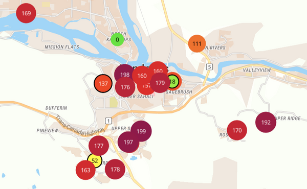 british columbia outdoor air quality