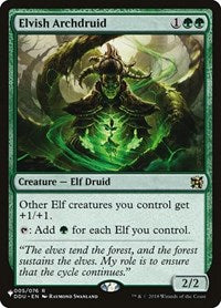 Elvish Archdruid [The List] | Gear Gaming Birmingham Alabama