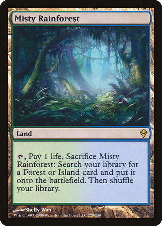 Misty Rainforest [Zendikar] | Gear Gaming Birmingham Alabama
