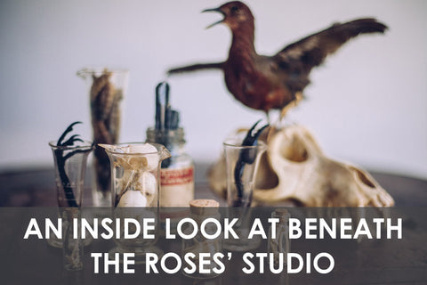An Inside Look at Beneath The Roses' Studio