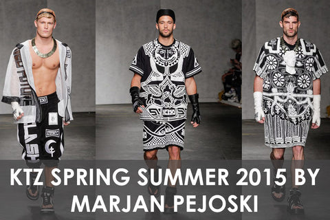 KTZ Spring Summer 2015 Collection by Marjan Pejoski