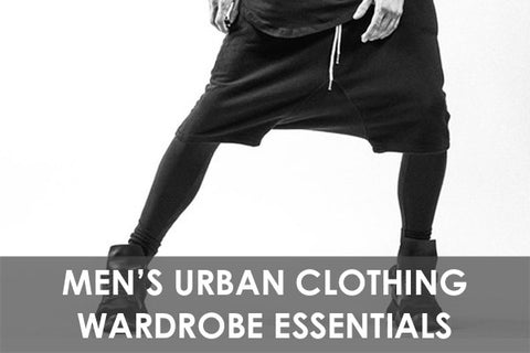 Men's Urban Clothing Wardrobe Essentials